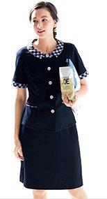 ウエストゴムAラインスカート 91-FS45801