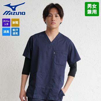MZ-0120 ミズノ(mizuno) ストレッチスクラブ(男女兼用)