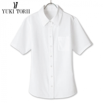YT1701 ユキトリイ 半袖ブラウス エスメニガードSe加工