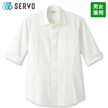 ET-5731 5732 5733 5734 SUNPEX(サンペックス) ショップシャツ/七分袖(男女兼用)