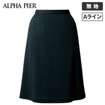 AR3683 アルファピア Aラインスカート ミニチェックシャドー