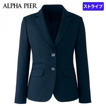 AR4668 アルファピア ジャケット ストライプ 40-AR4668