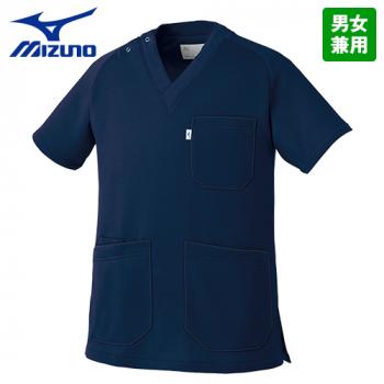 [在庫限り]MZ-0084 ミズノ(mizuno) ニットスクラブ(男女兼用)