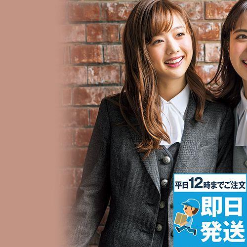 EAJ718 enjoy ジャケット メランジェ千鳥