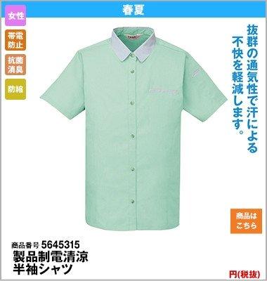 レディース半袖シャツ