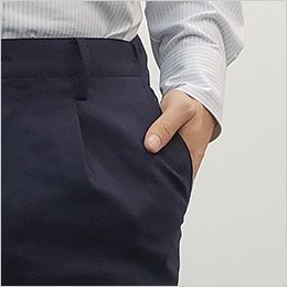 両脇ポケット(左部分)