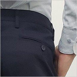 後ろ右ポケット(ボタン付き)