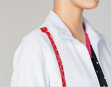 機能的な肩ループと両腰ポケット