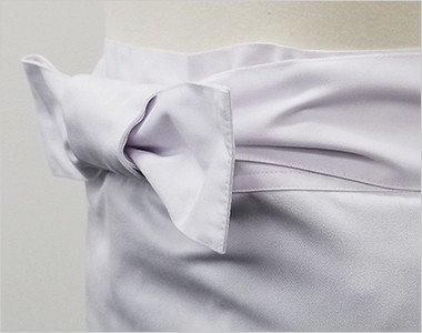 厚手で丈夫な生地なので腰紐も綺麗に結べます
