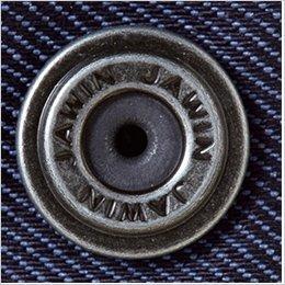 袖口 デザインボタン