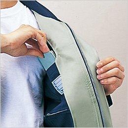 左胸内ポケット