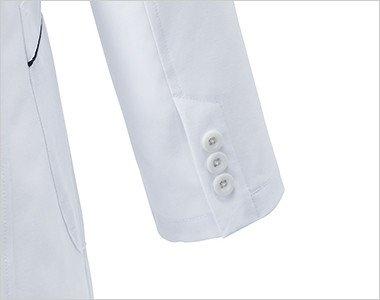 3つボタンの袖口