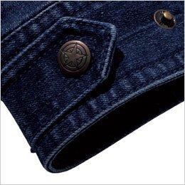 腰回りのサイズ調整が可能な裾アジャスター付き