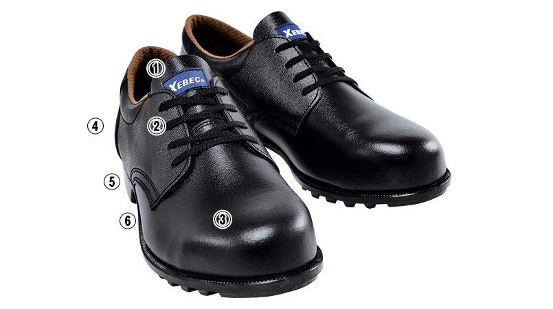 ジーベック 85025安全半長靴 樹脂先芯のこだわりポイント