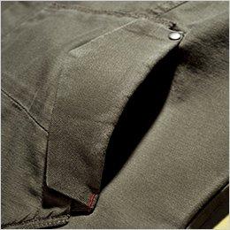 二重ポケット