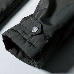袖口アジャスト機能で調整可能