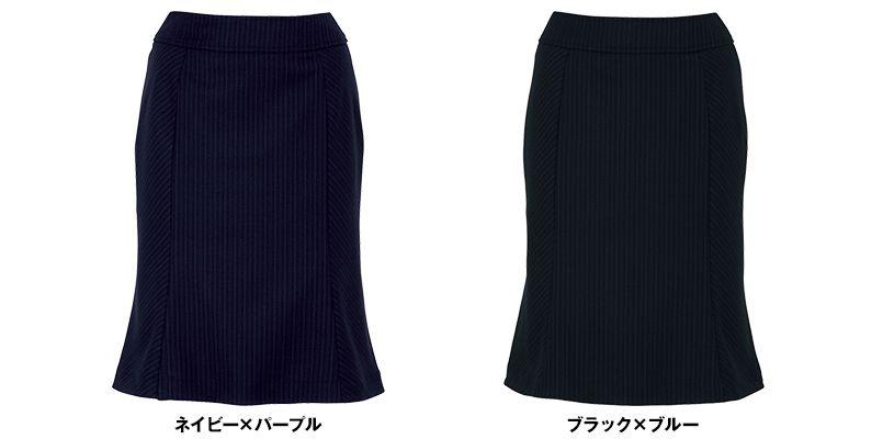 BONMAX AS2243 [通年]アウトラストI マーメイドスカート ストライプ[温度調整機能付] 色展開