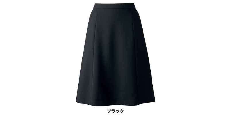 BONMAX AS2281 [通年]インプレス フレアースカート 無地 色展開