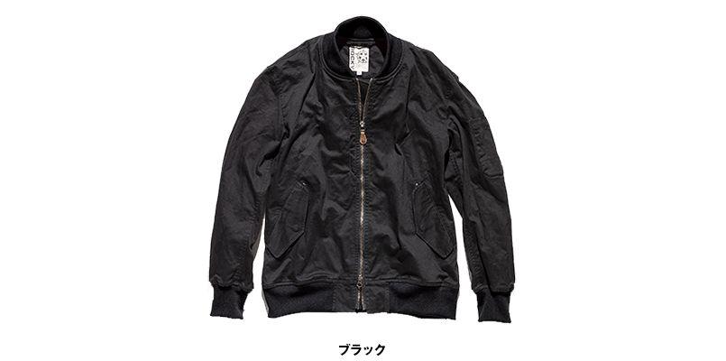 RJ0908 ROCKY ツイルMA-1ミリタリージャケット(男女兼用) 色展開