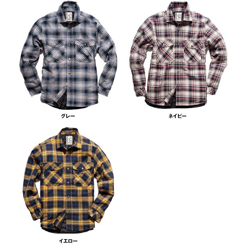 RS4901 ROCKY キルトシャツ(男女兼用) 色展開