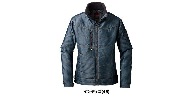 バートル 5240 ヘリンボーン防寒ジャケット(男女兼用) 色展開