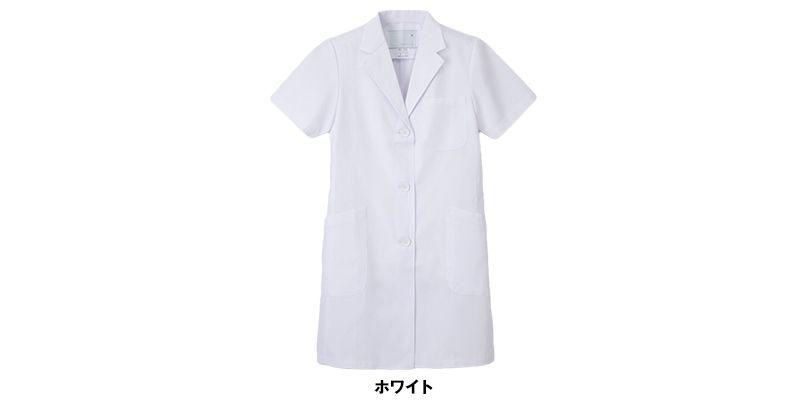 KEX5132 ナガイレーベン(nagaileben) ケックスター シングル半袖診察衣(女性用) 色展開