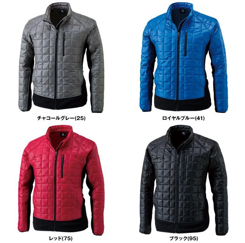 4226 TS DESIGN [秋冬用]マイクロリップロングスリーブジャケット(男女兼用) 色展開