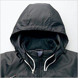 AZ10304 アイトス [秋冬用]タルテックス フードイン中綿ジャケット(男女兼用) フード付き