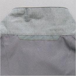 AZ50197 アイトス タルテックス 空調服 ベスト(男女兼用) ポリ100% 夜間の視認性をアップする反射テープ付き