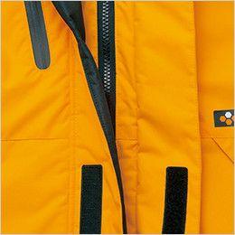 AZ6063 アイトス 極寒対応 光電子 防風防寒着コート W前立て使用