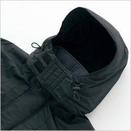AZ6160 アイトス 光電子 軽量 防水防寒コート フードドローコード