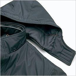 AZ8561 アイトス 防風防寒ブルゾン[フード付き・取り外し可能](男女兼用) 着脱式フード