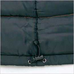 AZ8561 アイトス 防風防寒ブルゾン[フード付き・取り外し可能](男女兼用) ドローコード