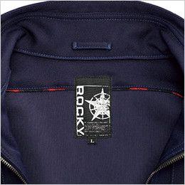 RJ0913 ROCKY ブルゾン(男女兼用) バックツイル チェック柄のアクセント