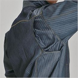 バートル 1501 ヘリンボーン&T/Cソフトツイルジャケット(男女兼用) 背アームノーフォーク