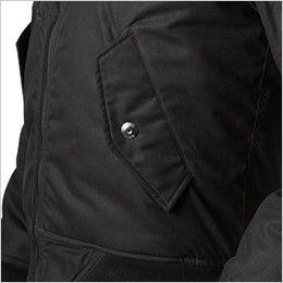 バートル 5260 MA-1 フライト防寒ジャケット(男女兼用) ウォームアップポケット