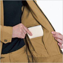 バートル 5308 T/C リップクロスレディースジャケット(女性用) 内ポケット