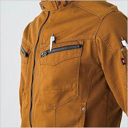 バートル 5501 綿100%チノクロスジャケット(男女兼用) ペンさし
