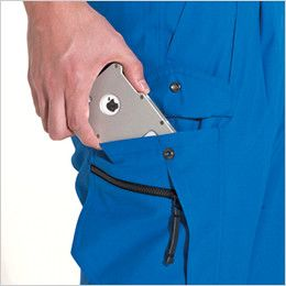 バートル 7066 [春夏用]ソフトトロピカルツータックカーゴパンツ(男女兼用) Phone収納ポケット