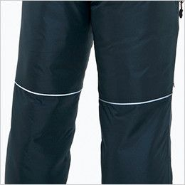 バートル 7212 [秋冬用]サーモトロン防寒パンツ(男女兼用) リフレクターバイビングデザイン