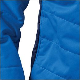 バートル 7410 [秋冬用]防風ストレッチ軽量防寒ブルゾン(男女兼用) ウォームポケット