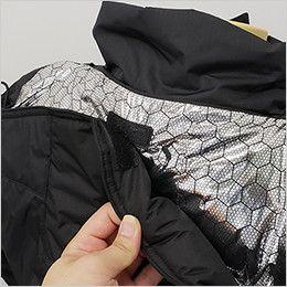 バートル 7510 [秋冬用]リップクロス防寒ジャケット(大型フード付)(男女兼用) マジックテープ付きで邪魔にならない大型フード