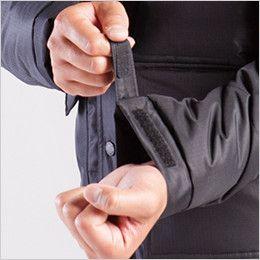 バートル 7510 [秋冬用]リップクロス防寒ジャケット(大型フード付)(男女兼用) カフスアジャスター