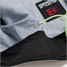 AC1024SET バートル エアークラフトセット[空調服]迷彩ベスト(男女兼用) ポリ100% ネック吸汗ニット