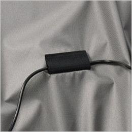 AC1076 バートル エアークラフト[空調服] 半袖ブルゾン(男女兼用) コードストッパー(マジックテープ)