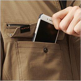 バートル AC1131 エアークラフト[空調服]長袖ブルゾン(男女兼用) 綿100% Phone収納ループ