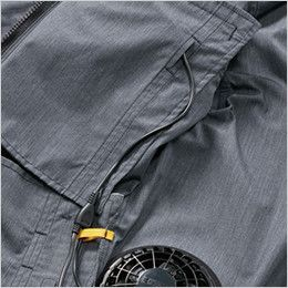 AC7141 バートル エアークラフト[空調服] ブルゾン(男女兼用) コードホール、コードループ