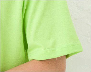 ハイグレードTシャツ(6.2オンス)(男女兼用) 袖口リブ仕様