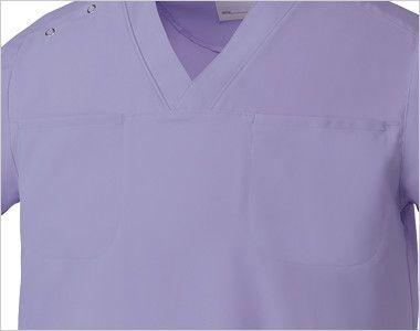 MZ-0051 ミズノ(mizuno) クールマックス スクラブ(男女兼用) ポケット付き