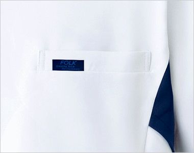 1015EW FOLK(フォーク) メンズケーシー(男性用) ポケット付き